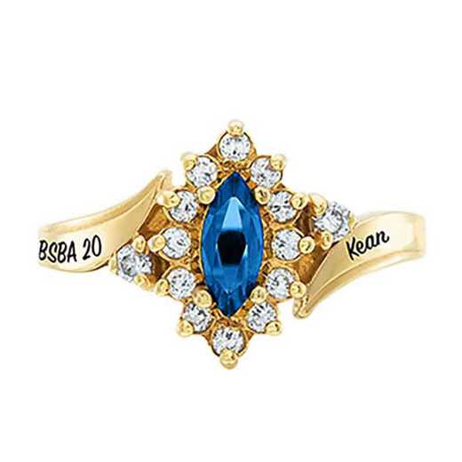 Kean University Women's Allure College Ring