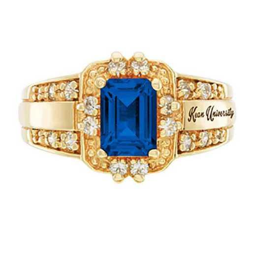 Kean University Women's Illusion College Ring