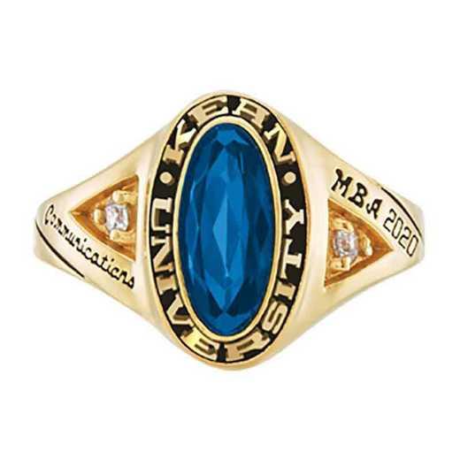 Kean University Women's Signature College Ring