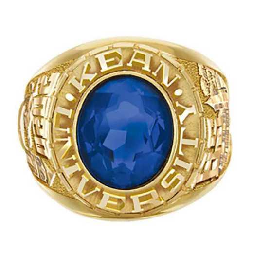 Kean University Men's Large Traditional College Ring
