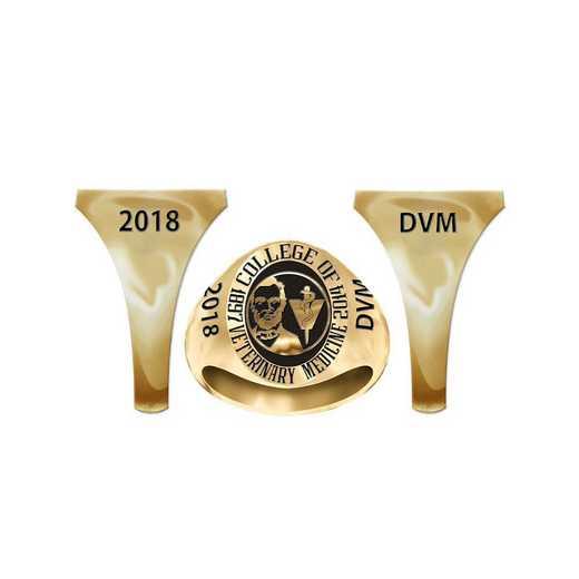 LMU College of Veterinary Medicine Women's Signet
