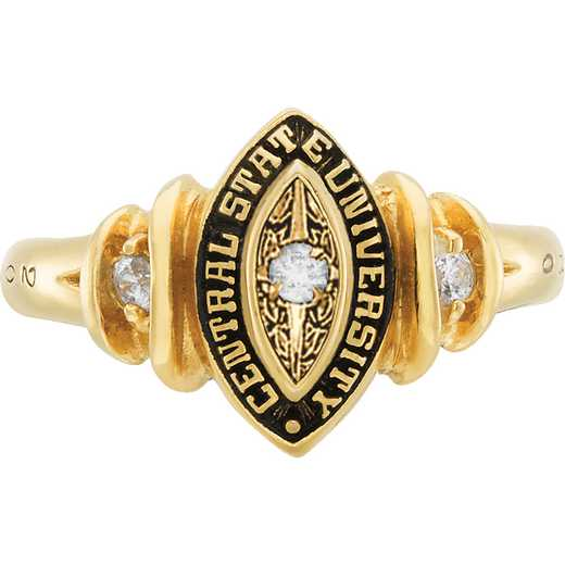 University of California at Riverside Women's Duet Ring College Ring
