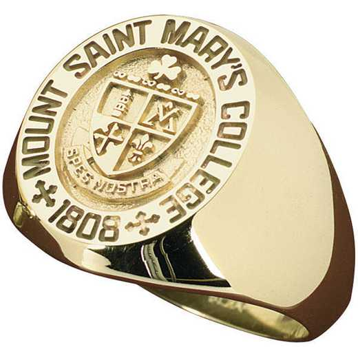Mount St. Mary's University Class Of 2021 Men's Signet