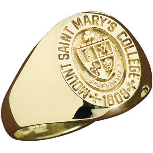 Mount St. Mary's University Class Of 2021 Women's Signet
