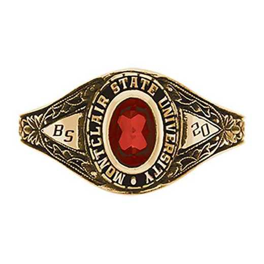 Montclair State University Women's Bouquet College Ring
