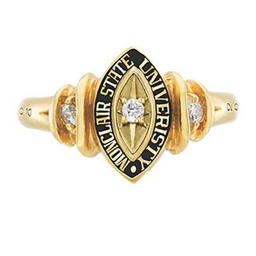 Montclair State University Women's Duet College Ring