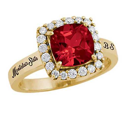 Montclair State University Women's Embrace College Ring