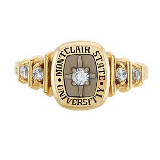 Montclair State University Women's Highlight College Ring