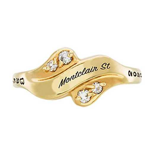 Montclair State University Women's Seawind College Ring