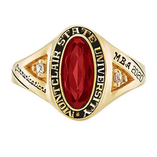 Montclair State University Women's Signature College Ring