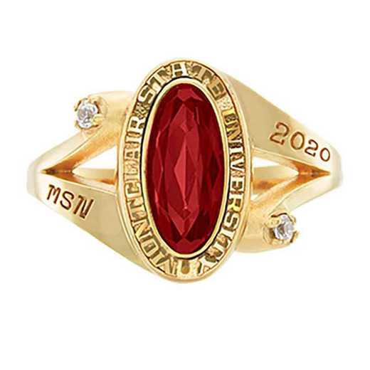 Montclair State University Women's Symphony College Ring