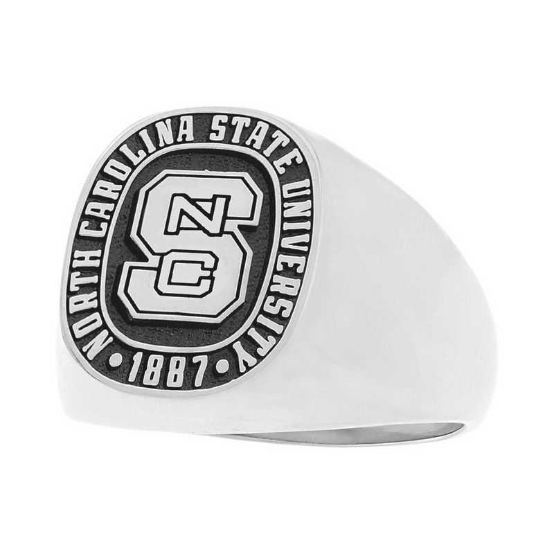 Women's Signet Ring with Metal Top 4830S