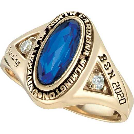 University of North Carolina at Wilmington Women's Signature College Ring