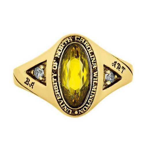 University of North Carolina at Wilmington Women's Signature College Ring