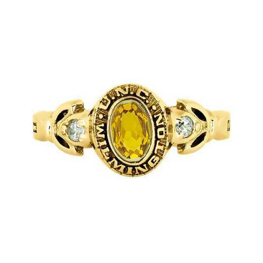 University of North Carolina at Wilmington Women's Twilight College Ring