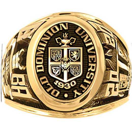 Old Dominion University Men's Large Signet College Ring