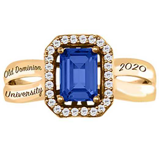 Old Dominion University Women's Inspire College Ring