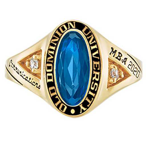 Old Dominion University Women's Signature College Ring