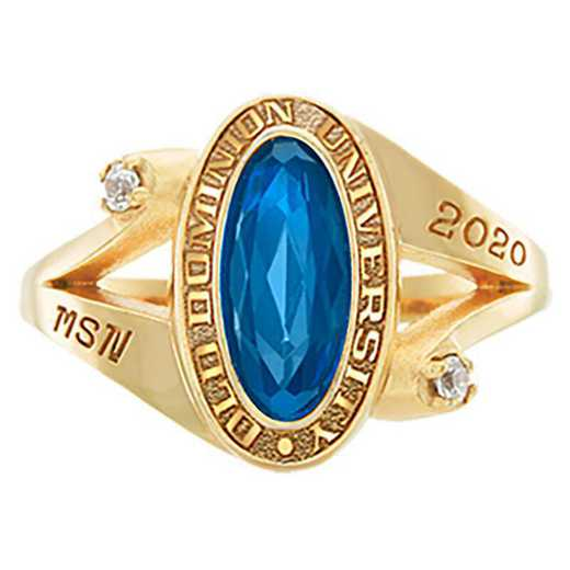 Old Dominion University Women's Symphony College Ring