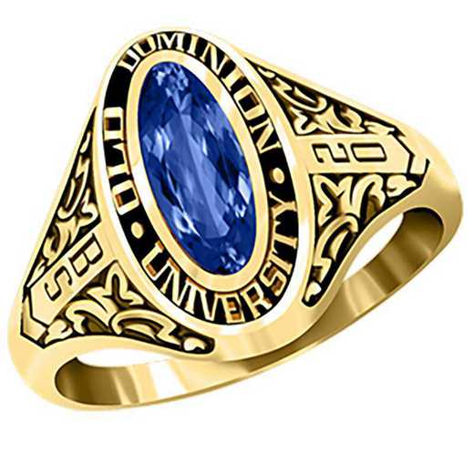 Old Dominion University Women's Trellis College Ring