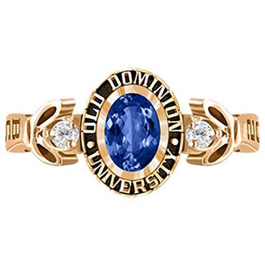Old Dominion University Women's Twilight College Ring