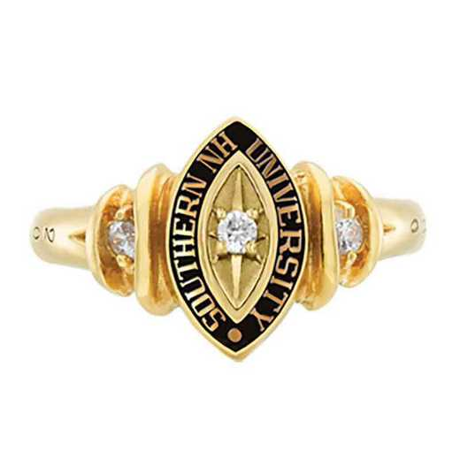 Southern New Hampshire University Women's Duet College Ring