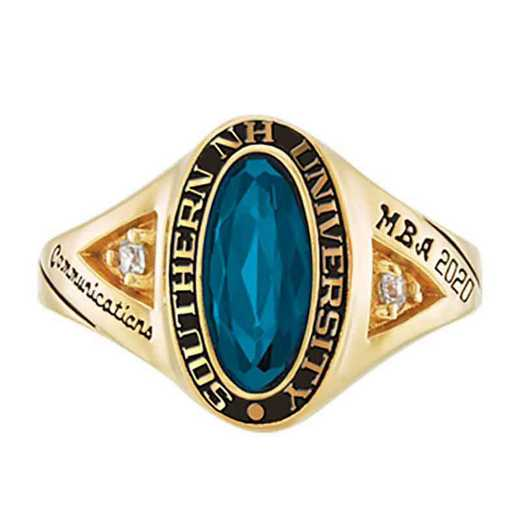 Southern New Hampshire University Women's Signature College Ring
