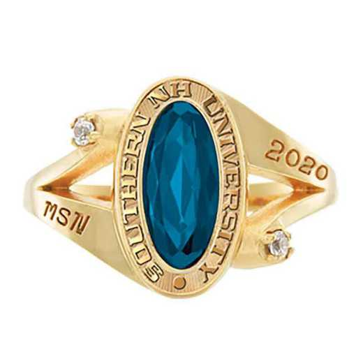 Southern New Hampshire University Women's Symphony College Ring