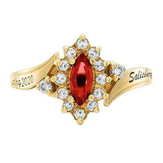 Salisbury University Women's Allure College Ring