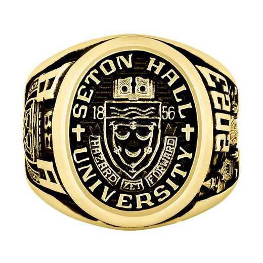 Seton Hall Men's Collegian Ring with Stone