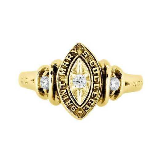 Saint Mary's College of California Women's Duet Ring