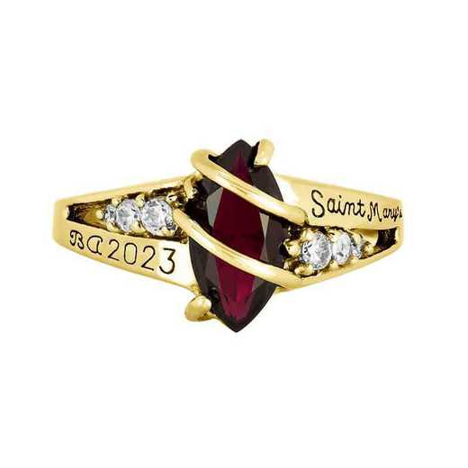 Saint Mary's College of California Women's Windswept Ring