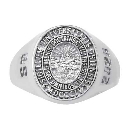 Ohio University Follett Bookstore Women's Signet v2 Ring