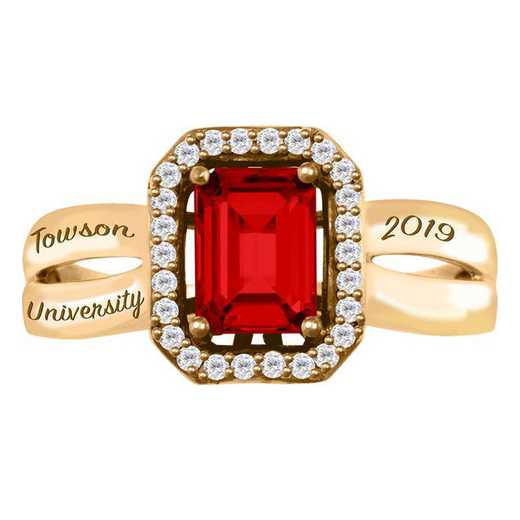 Towson University Inspire Ring - Women's
