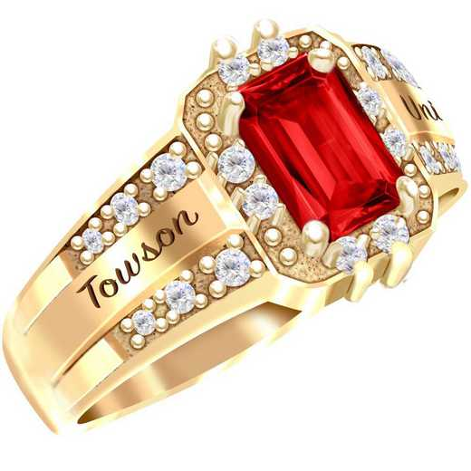 Towson University Illusion Ring - Women's