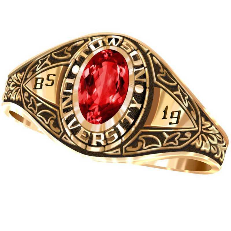 Towson University Bouquet Ring - Women's