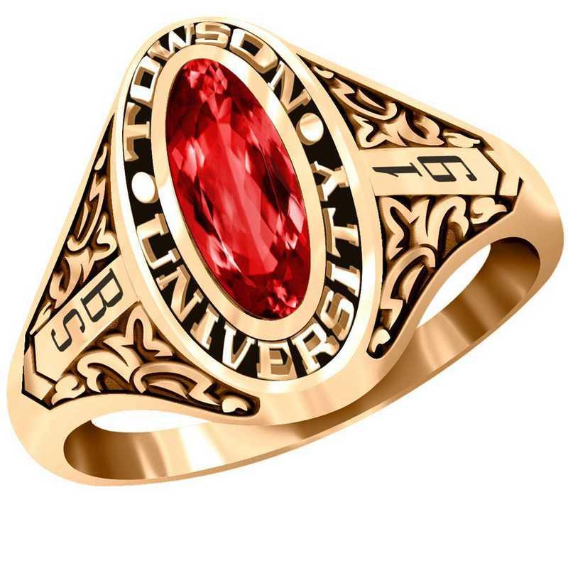Towson University Trellis Ring - Women's