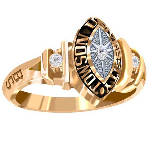 Towson University Duet Ring - Women's