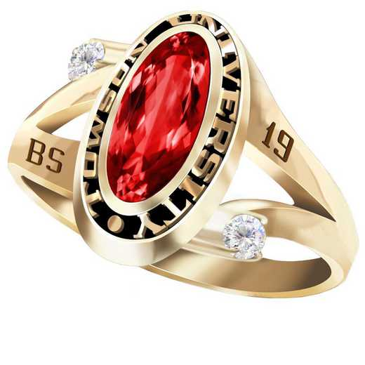 Towson University Symphony Ring - Women's