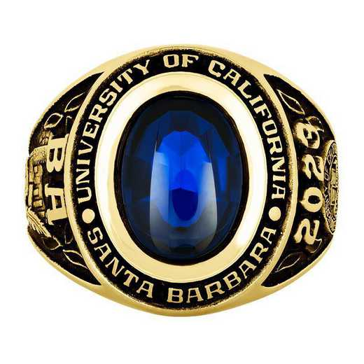 University of California at Santa Barbara Men's Galaxie I Ring