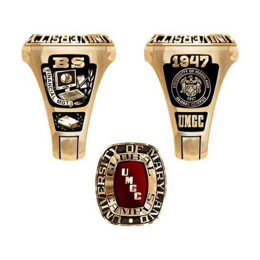 University of Maryland Global Campus Legend Ring