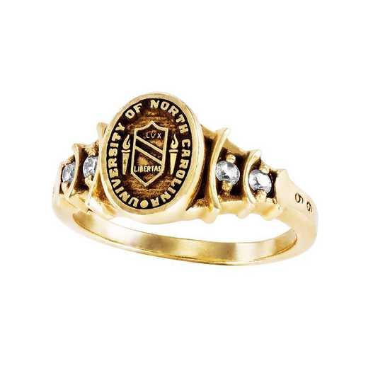 University of North Carolina at Chapel Hill Ladies' Crescent Ring
