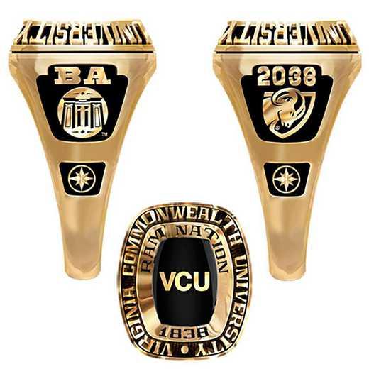 Virginia Commonwealth University Small Legend Ring