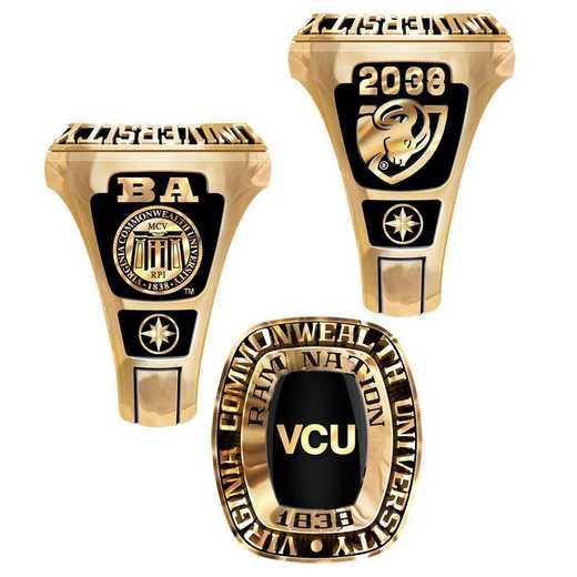 Virginia Commonwealth University Large Legend Ring