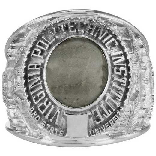 Virginia Tech Class of 2020 Large Giovanni Oval Top Class Ring