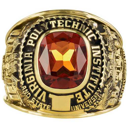 Virginia Tech Class of 2020 Large Giovanni Square Top Class Ring