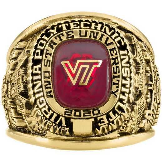 Virginia Tech Class of 2020 Large Giovanni Stadium Top Class Ring