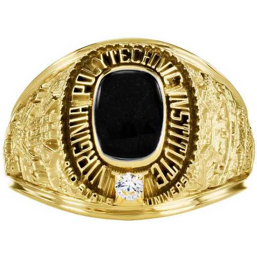 Virginia Tech Class of 2020 Small Giovanni Square Top Class Ring