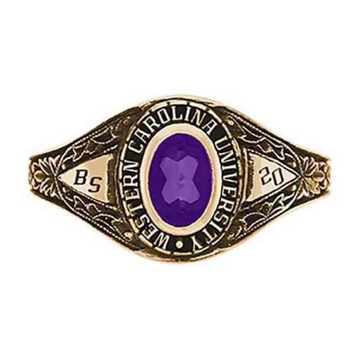 Western Carolina University Women's Bouquet College Ring
