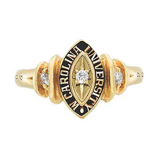 Western Carolina University Women's Duet College Ring